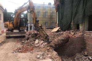 Организация демонтажа здания